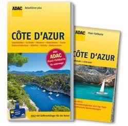 ADAC Reiseführer plus Côte d'Azur von Gercke,  Hans
