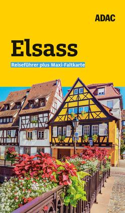 ADAC Reiseführer plus Elsass von Frommer,  Robin Daniel
