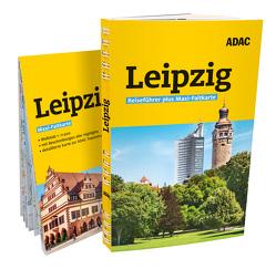 ADAC Reiseführer plus Leipzig von Lopez-Guerrero,  Gabriel Calvo, Tzschaschel,  Sabine, van Rooij,  Jens