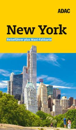 ADAC Reiseführer plus New York von Glaser,  Hannah