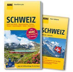 ADAC Reiseführer plus Schweiz von Goetz,  Rolf