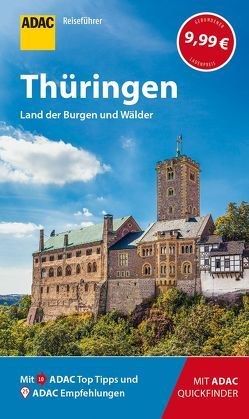 ADAC Reiseführer Thüringen von Lopez-Guerrero,  Gabriel Calvo, Rechenbach,  Bärbel, Tzschaschel,  Sabine