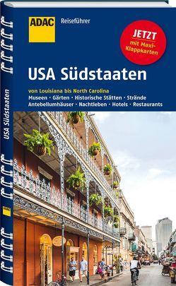 ADAC Reiseführer USA Südstaaten von Wagner,  Bernd, Wagner,  Heike