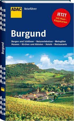 ADAC Reiseführer Burgund von Neumann-Adrian,  Edda, Neumann-Adrian,  Michael