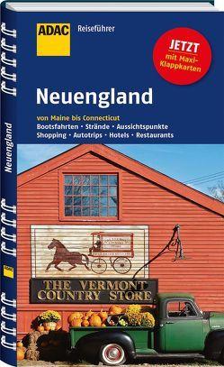 ADAC Reiseführer Neuengland von Wagner,  Bernd, Wagner,  Heike
