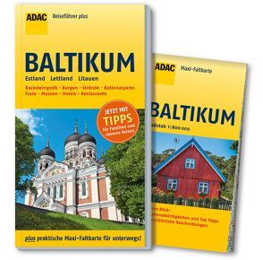 ADAC Reiseführer plus Baltikum von Hamel,  Christine