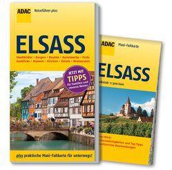 ADAC Reiseführer plus Elsass von Gercke,  Hans