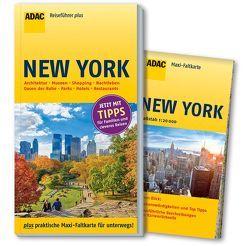 ADAC Reiseführer plus New York von Metzger,  Christine