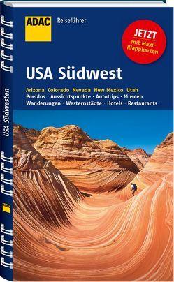 ADAC Reiseführer USA Südwest von Wagner,  Bernd, Wagner,  Heike