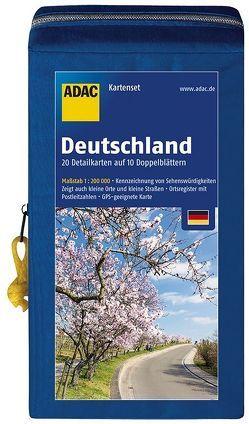 ADAC StraßenKarten Kartenset Deutschland 12Box