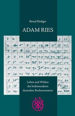 ADAM RIES von Gebhardt,  Rainer, Rüdiger,  Bernd, Waschka,  Adelheid, Weidauer,  Manfred