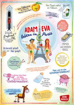 Adam und Eva lebten in Paris von Don Bosco Medien,  Redaktionsteam