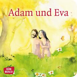 Adam und Eva. Mini-Bilderbuch. von Lefin,  Petra, Nommensen,  Klaus-Uwe