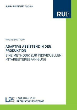 Adaptive Assistenz in der Produktion von Breitkopf,  Niklas