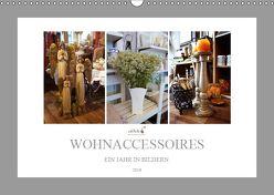 Adele Wohnaccessoires Ein Jahr in Bildern 2019 (Wandkalender 2019 DIN A3 quer) von Meutzner,  Dirk