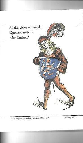 Adelsarchive von Hedwig,  Andreas, Murk,  Karl