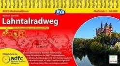 ADFC-Radreiseführer Lahntalradweg 1:50.000 praktische Spiralbindung, reiß- und wetterfest, GPS-Tracks Download von Schmidt,  Norbert