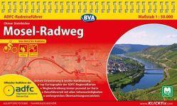ADFC-Radreiseführer Mosel-Radweg 1:50.000 praktische Spiralbindung, reiß- und wetterfest, GPS-Tracks Download von Steinbicker,  Otmar
