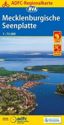ADFC-Regionalkarte Mecklenburgische Seenplatte 1:75.000, reiß- und wetterfest, GPS-Tracks Download