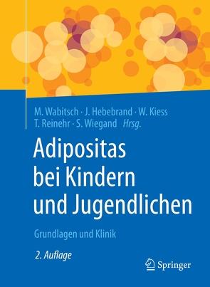 Adipositas bei Kindern und Jugendlichen von Hebebrand,  Johannes, Kiess,  Wieland, Reinehr,  Thomas, Wabitsch,  Martin, Wiegand,  Susanna