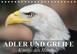 Adler und Greife – Könige des Himmels (Tischkalender 2019 DIN A5 quer) von Stanzer,  Elisabeth