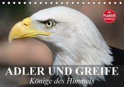 Adler und Greife. Könige des Himmels (Tischkalender 2019 DIN A5 quer) von Stanzer,  Elisabeth
