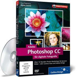 Adobe Photoshop CC für digitale Fotografie von Jarsetz,  Maike