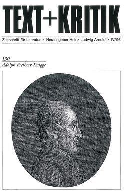 Adolph Freiherr Knigge von Arnold,  Heinz Ludwig