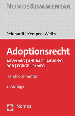 Adoptionsrecht von Kemper,  Rainer, Reinhardt,  Jörg, Weitzel,  Wolfgang