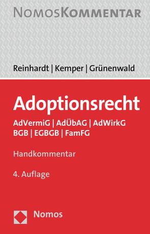 Adoptionsrecht von Grünenwald,  Christoph, Kemper,  Rainer, Reinhardt,  Jörg