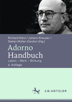 Adorno-Handbuch von Klein,  Richard, Kreuzer,  Johann, Müller-Doohm,  Stefan
