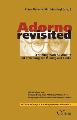 Adorno revisited von Ahlheim,  Klaus