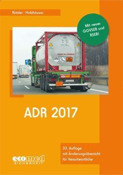 ADR 2017 von Holzhäuser,  Jörg, Ridder,  Klaus