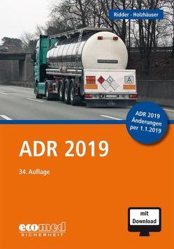 ADR 2019 von Holzhäuser,  Jörg, Ridder,  Klaus