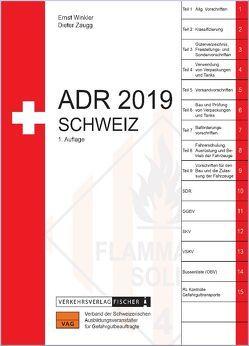 ADR 2019 Schweiz von Winkler,  Ernst, Zaugg,  Dieter