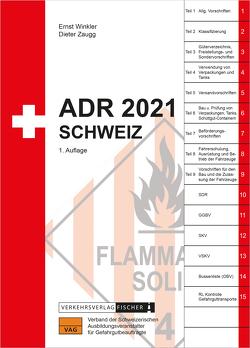 ADR 2021 Schweiz von Winkler,  Ernst, Zaugg,  Dieter