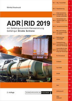 ADR / RID 2019 – 2. Auflage von Krautwurst,  Monika