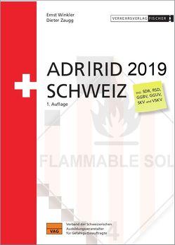 ADR / RID 2019 Schweiz von Winkler,  Ernst, Zaugg,  Dieter