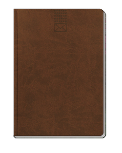 Adressbuch, A5, Adressbücher, blau, braun, grau, groß