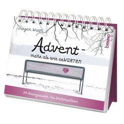 Adventskalender »Advent – mehr als wir erWARTEN« von Werth,  Jürgen