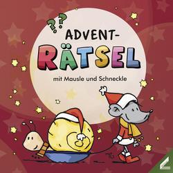 ADVENT-Rätsel mit Mausle und Schneckle von Schwenk,  Lisa, Trantow,  Thorsten