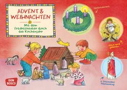 Advent und Weihnachten. Kamishibai Bildkartenset. von Funke,  Gertraud, Hebert,  Esther, Rensmann,  Gesa