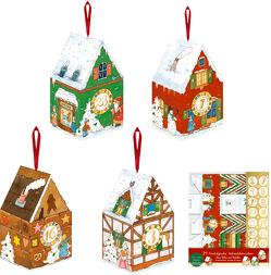 Adventshäuschen – 24 winterliche Adventshäuschen von Kämpf,  Christian