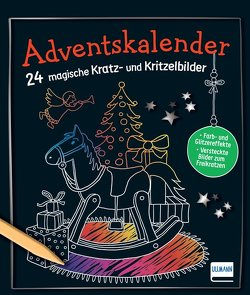 Adventskalender – 24 magische Kratz- und Kritzelbilder von Doering,  Svenja, Frings,  Sandra