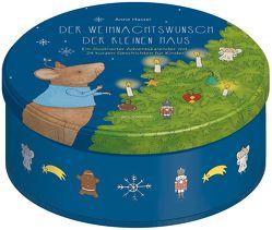 Adventskalender Der Weihnachtswunsch der kleinen Maus – 24 kurze Geschichten für Kinder von Hassel,  Anne