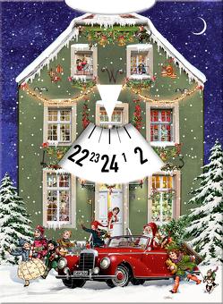 Adventskalender-Drehscheibe – Warten auf Weihnachten von Behr,  Barbara