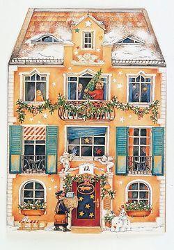 """Adventskalender """"Im Weihnachtshaus"""" von Wissmann,  Maria"""