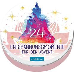 Adventskalender in der Dose: 24 Entspannungsmomente für den Advent