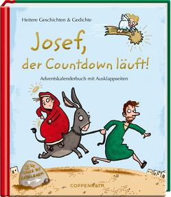 Adventskalenderbuch – Josef, der Countdown läuft von Saleina,  Thorsten