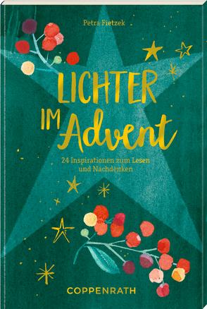 Adventskalenderbuch – Lichter im Advent von Fietzek,  Petra